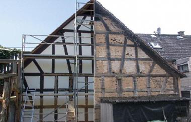 Ihr kompetender partner f rs komplette dach holzbau ralf for Innenisolierung fachwerkhaus